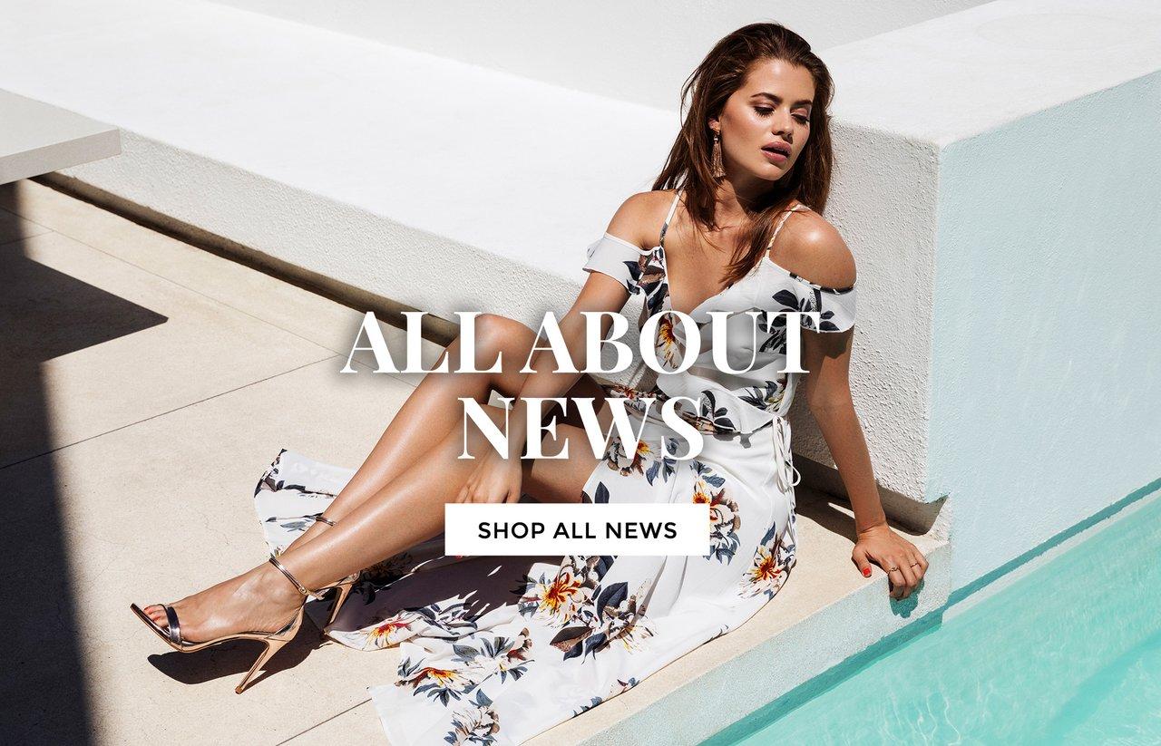 News - dresses, tops and coats