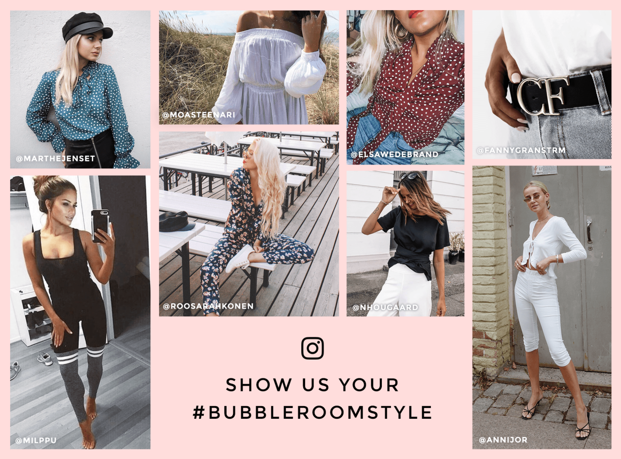Post and tag #Bubbleroomstyle