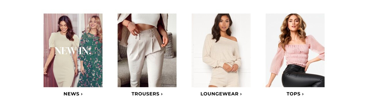 Shop news, trousers, loungewear & tops here