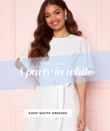 Shop white dresses from Bubbleroom