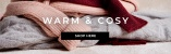 Shop warm and cosy knits