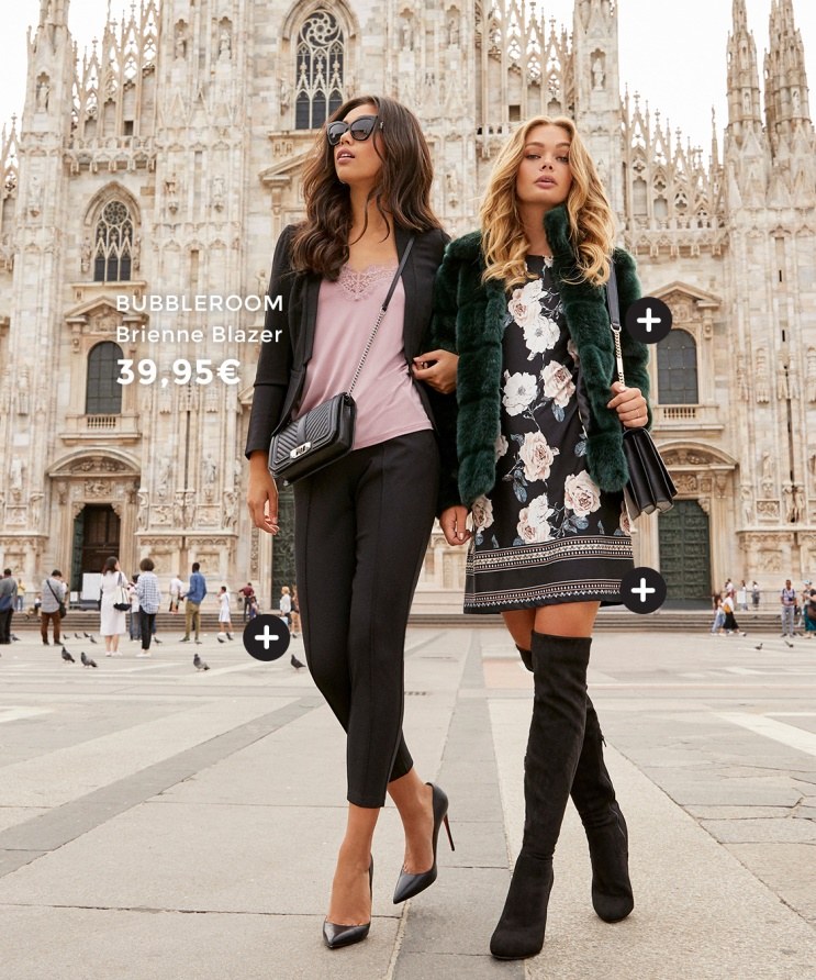 We are starting autumn in the fashion city of Milan