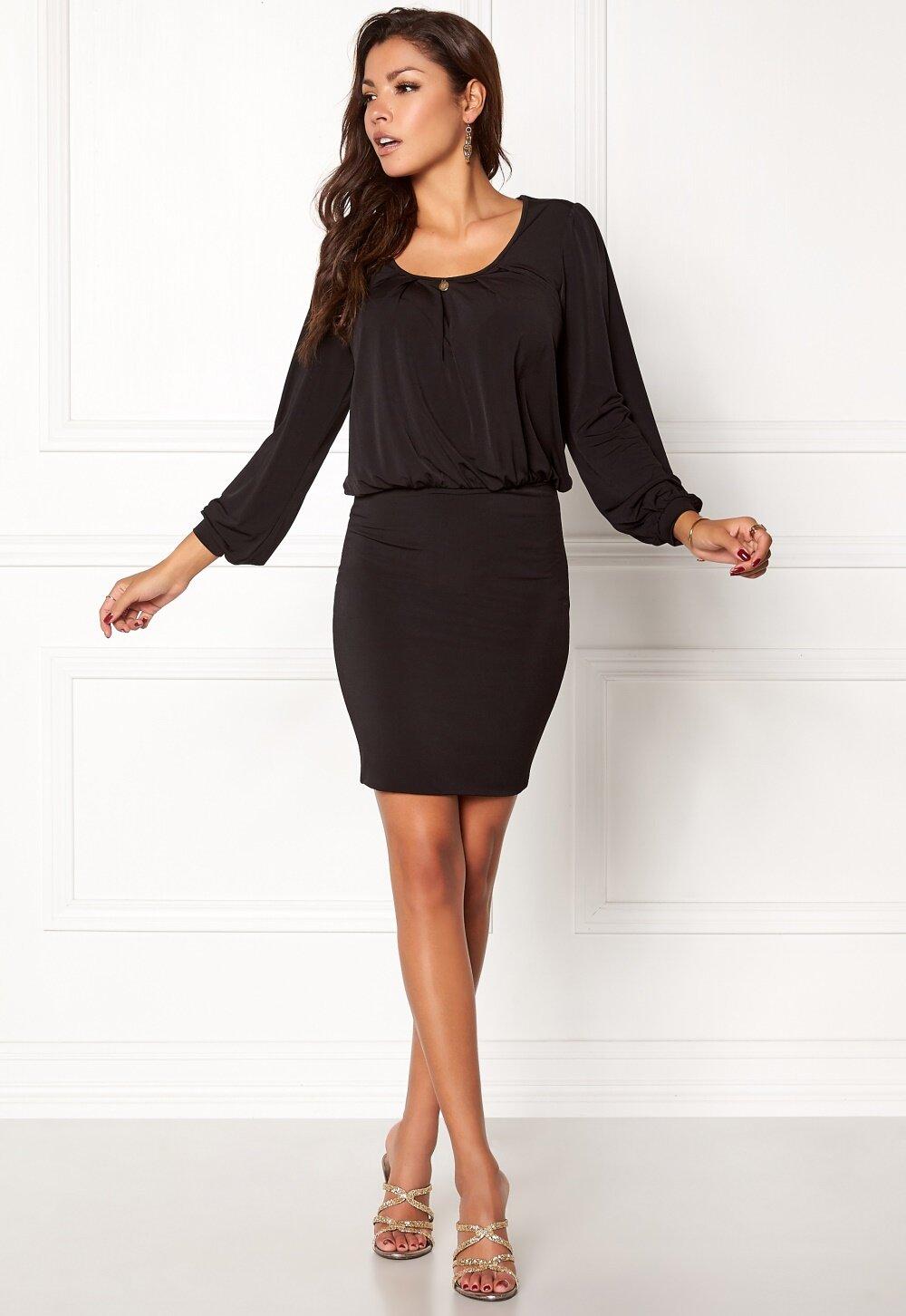 b93a1ac4 Chiara Forthi Crystal Dress Black - Bubbleroom