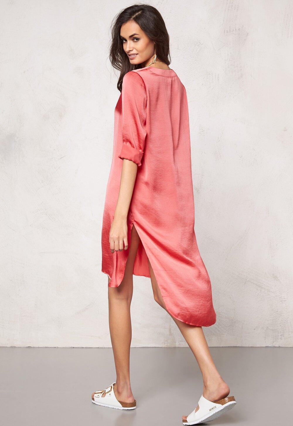 6ee0890bb453 Make Way Fazia Dress Coral - Bubbleroom