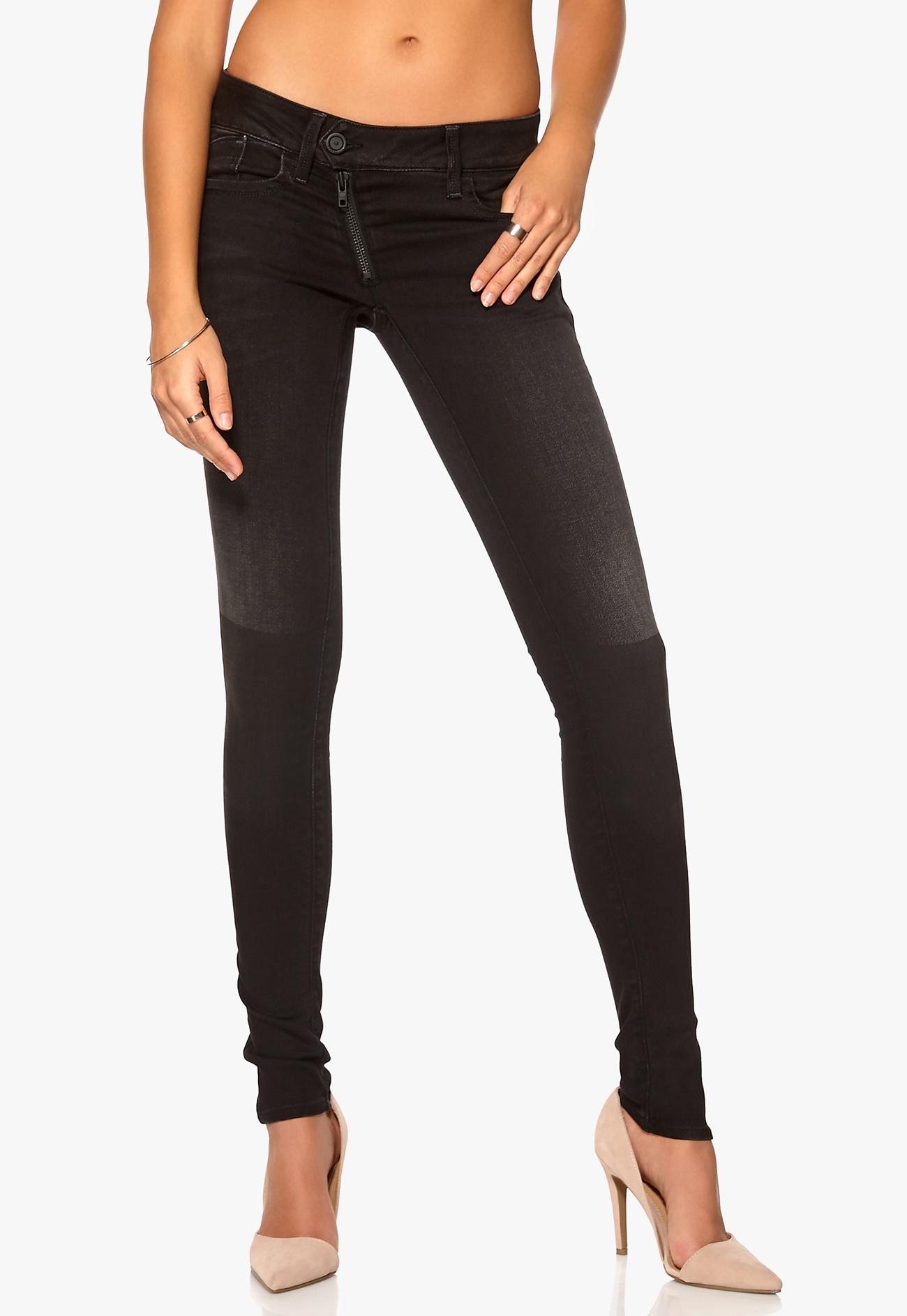 g star lynn zip skinny jeans 4840 shablon wash bubbleroom. Black Bedroom Furniture Sets. Home Design Ideas