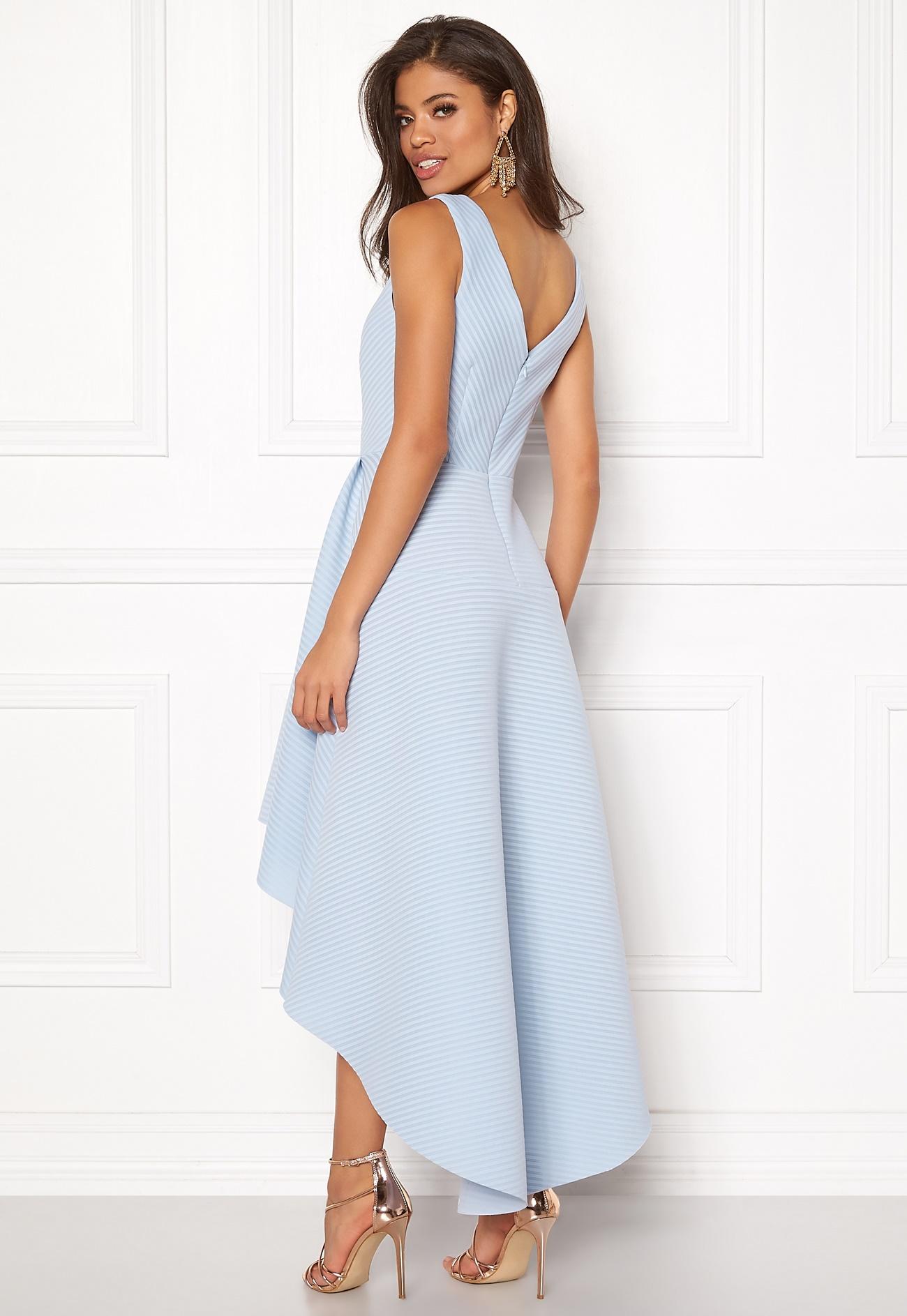 Light Blue High Low Dress