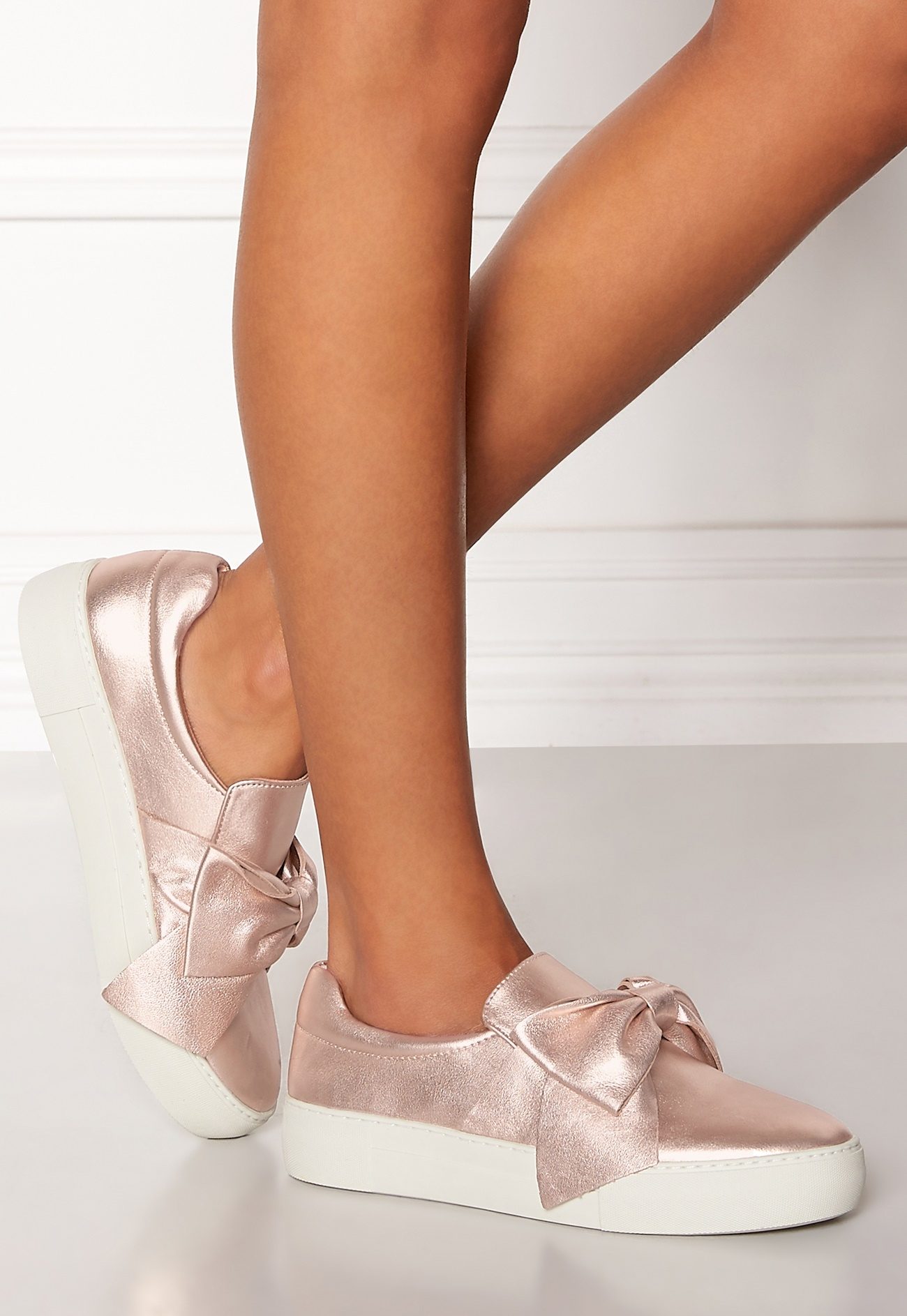 ... Steve Madden Empire Slip-on Shoes Rose Gold Bubbleroom.eu ...