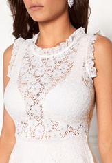 Chiara Forthi Ferrer Lace Dress Antique white