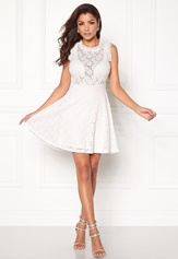 Chiara Forthi Ferrer Lace Dress Antique white Bubbleroom.eu