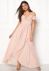 Girl In Mind Maxi Dress Light Pink