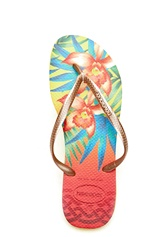 Havaianas Slim Flip-Flop Light Yellow