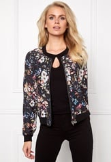 Make Way Emerly Bomber Jacket Floral