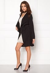 Make Way Luwana Spring Coat Black Bubbleroom.eu