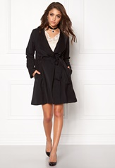 Make Way Luwana Spring Coat Black