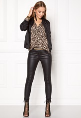 Rut & Circle Linda Bomber Jacket Black