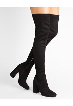 Glossy Thigh high boots, Frida  Bubbleroom.eu