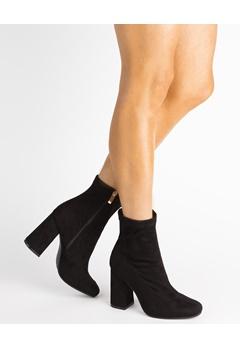 Glossy Heeled Boots, Vivianne  Bubbleroom.eu