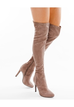 Have2have Over the knee boots, Mighty Grey/beige Bubbleroom.eu