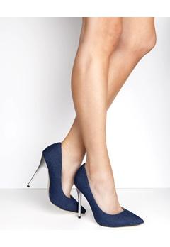 Have2have Stiletto court shoes, Koko Denim Bubbleroom.eu