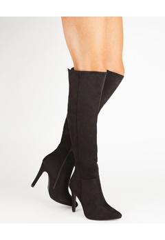 Truffle Knee high boots, Faye1 Black Bubbleroom.eu