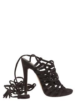 Truffle Lace Up Sandals, Rita99 Black Bubbleroom.eu