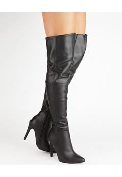 Truffle Over the knee boots, Faye13 Black Bubbleroom.eu