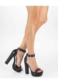 Truffle Heeled sandals, Julia 162  Bubbleroom.eu