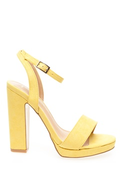 Truffle Sandals, Mila Yellow Bubbleroom.eu