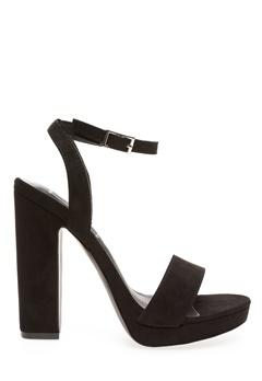 Truffle Sandals, Mila Black Bubbleroom.eu