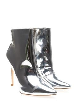Truffle Ankle boots, Akka Silver Bubbleroom.eu