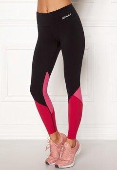 2XU Fitness Stride Comp Tight Black/Fuchsia Bubbleroom.eu