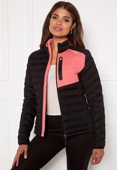 2XU Pursuit Insulation Jacket BLK/PLT Black/Pink L Bubbleroom.eu