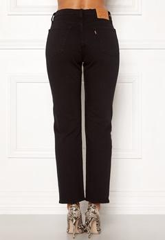 LEVI'S 501 Crop Jeans 0085 Black Heart Bubbleroom.eu