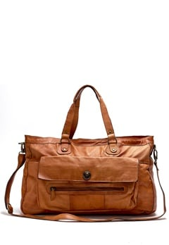 Pieces Totally Royal Travel Bag Cognac Bubbleroom.eu