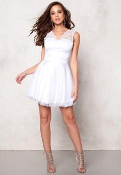 Sisters Point WD-12 Dress White Bubbleroom.eu