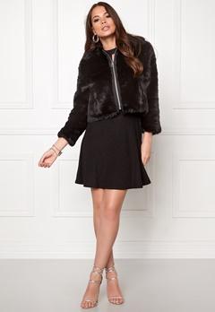 CHEAP MONDAY Pace Fur Jacket Black Bubbleroom.eu