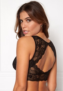 Pieces Delso padded lace bra Black Bubbleroom.eu