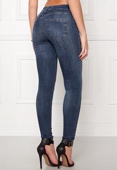 Pieces Five Delly Jeans Medium Blue Denim Bubbleroom.eu