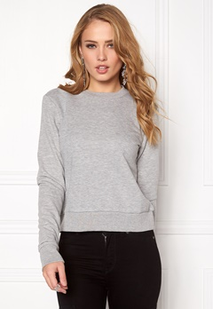 CHEAP MONDAY Swift Sweat Grey Melange Bubbleroom.eu