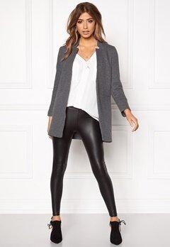 ONLY Mya Soft Blazer Jacket Dark Grey Melange Bubbleroom.eu