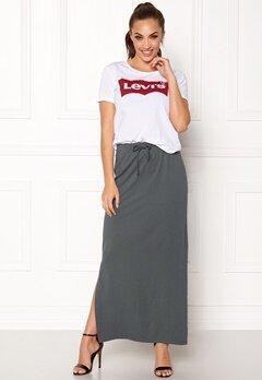 OBJECT Stephanie Maxi Skirt Asphalt Bubbleroom.eu
