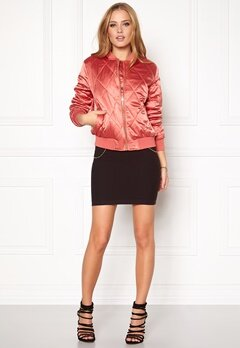 Pieces Haley Bomber Jacket Faded Rose Bubbleroom.eu