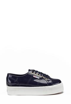 Superga Leapatent Sneaker Navy Bubbleroom.eu