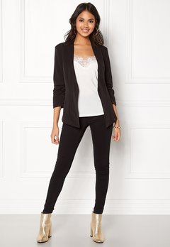 VILA Her 3/4 New Blazer Black Bubbleroom.eu