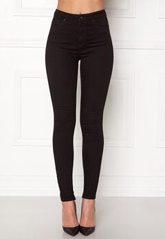 VERO MODA Sophia HW Skinny Jeans Black Bubbleroom.eu