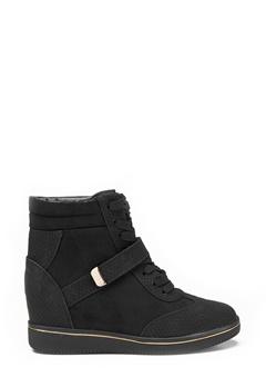 New Look Mudge wedge shoe Black Bubbleroom.eu