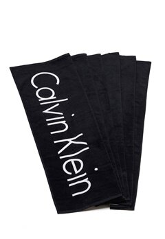 Calvin Klein Towel 001 Black Bubbleroom.eu