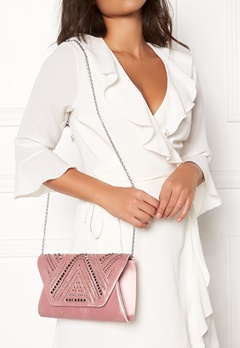 New Look Rita Structure Clutch Sheel Pink Bubbleroom.eu