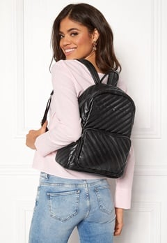 Pieces Malou Backpack Black Bubbleroom.eu