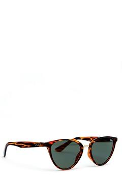Quay Australia Rumours Sunglasses Tort/Green Lens Bubbleroom.eu